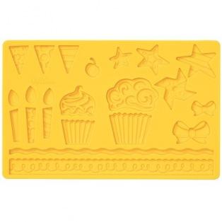 Moule à pâte à sucre et pastillage - Fête pour les enfants - Wilton