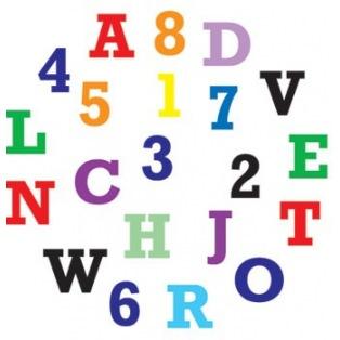 Alphabet & Numbers Cutter Set - Upper Case - FMM