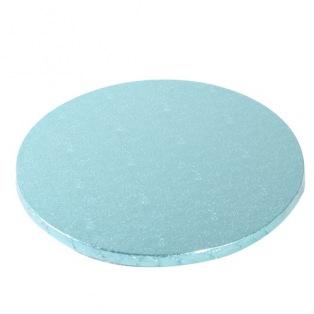 Support à gâteau de luxe 25cm - Bleu - Funcakes