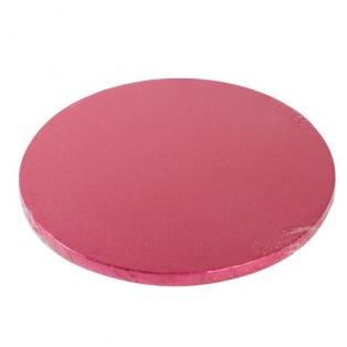 Cake Drum Round 30cm - Cerise - FunCakes