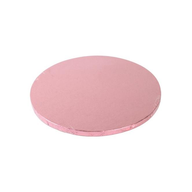 Cake Drum Round 25cm - Pink - FunCakes