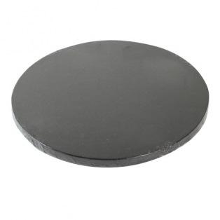 Support à gâteau de luxe 25cm - Noir - Funcakes