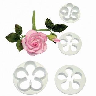 5 petal cutter set/4 - PME