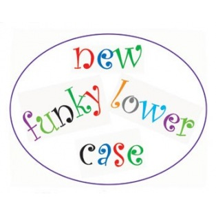 Funky Alphabet Tappits Lower Case - FMM