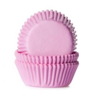 Mini Baking cups Light Pink - pk/60 - HoM