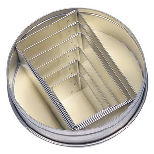 6 rectangle cookie cutters - Stadter