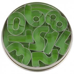 Metal Cutters Numbers set / 9 - Städter