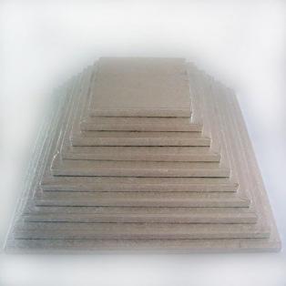 Support carré de luxe 22cm - Funcakes