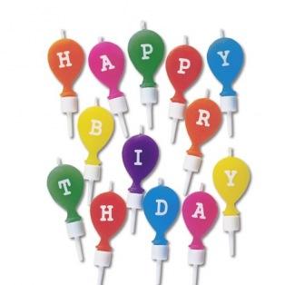 "Candle ""Happy Birthday"" - Städter"