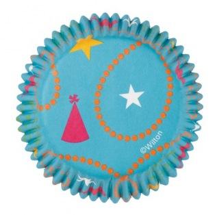 Wilton Baking Cups Party Hats pk/75
