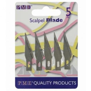 Spare Blades Craft Knife - Scalpel - Pk/5 - PME