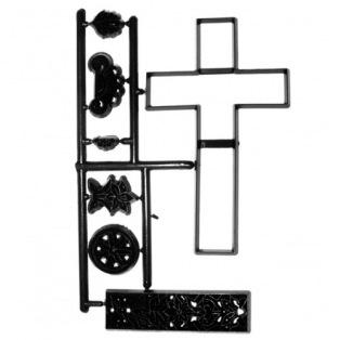 Large Cross & Lace Set - Patchwork cutters