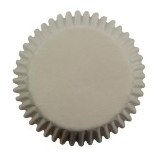 Caissettes à mini cupcakes-blan- 100pc- PME