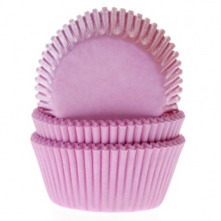 Baking Cups Pink - pk/50 - House of Marie