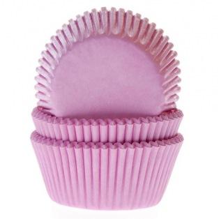 Caissettes à cupcakes - Rose - 50pc - HoM
