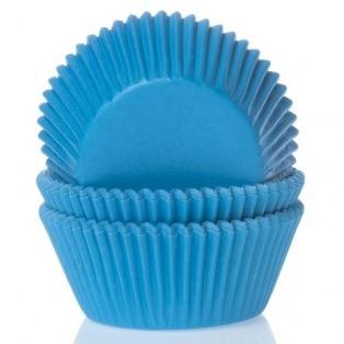 Baking Cups Cyan Blue pk/50 - House of Marie