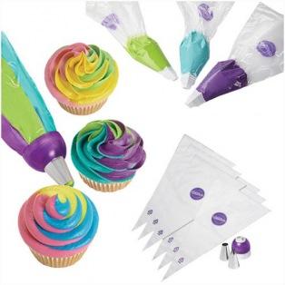 ColorSwirl Tri-Color Coupler Decorating - Set/9 - Wilton