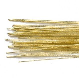 Floral Wire Gold set/50 - 24 gauge - Culpitt