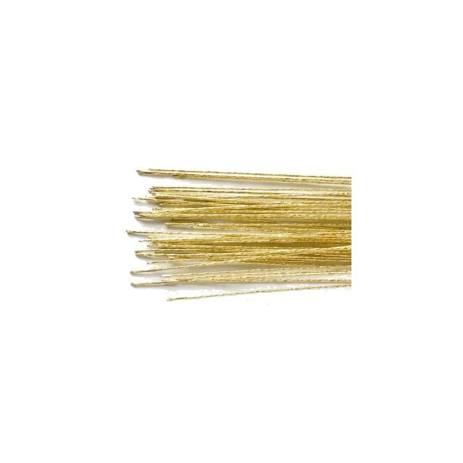 Tige en métal- doré- 0,5mm- Culpitt