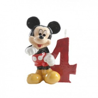 Mickey Mouse Candle - 4 years