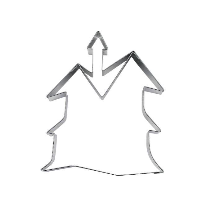 Emporte pièce - maison hantée - 8 cm