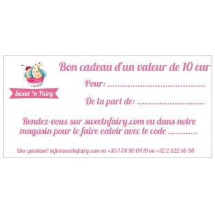Gift card - 10 EUR