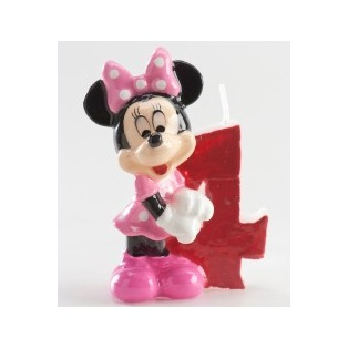 Minnie Candle - 4 years