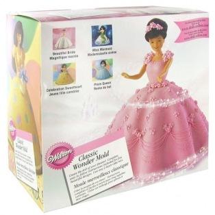 Moule Princesse 3D Wilton
