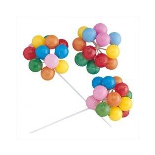 Ensemble de petits ballons colorés