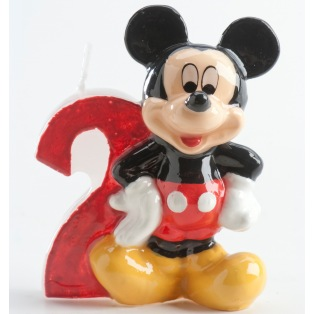 Mickey Mouse Candle - 2 years