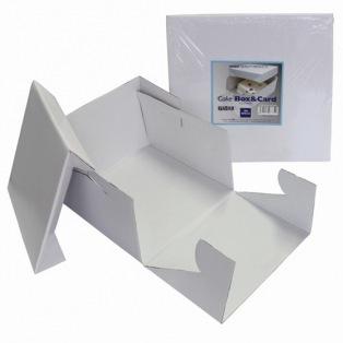 Boîte à gâteau 25x25x15cm - PME