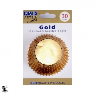 PME Baking cups Gold pk/30