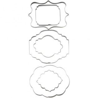 Wilton Cut-Outs - Plaque - Set/6