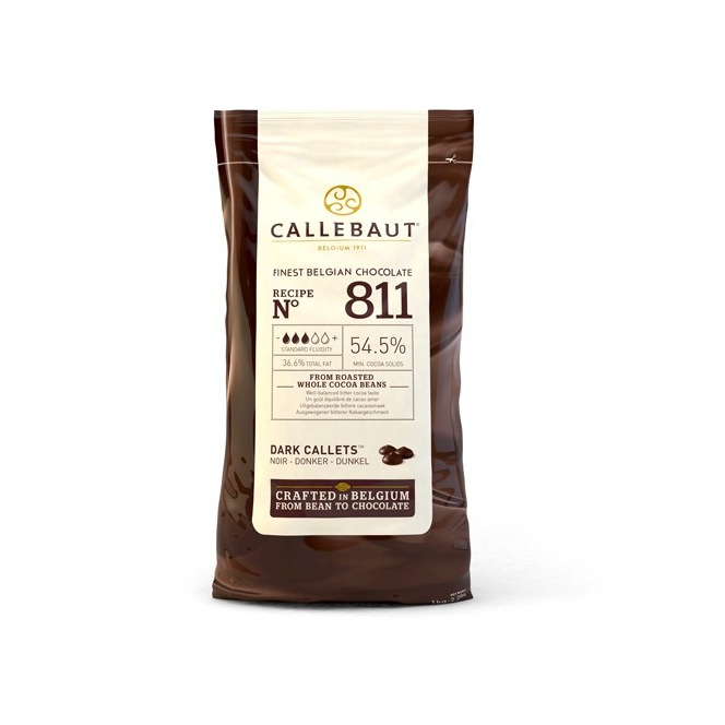 Chocolat Noir 54.5%-1 kg-Callebaut