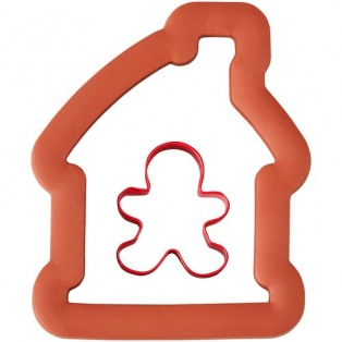 Wilton Comfort Grip Gingerbread House with Boy