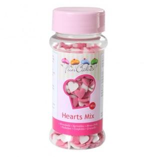 Little edible sweet hearts Funcakes 60g