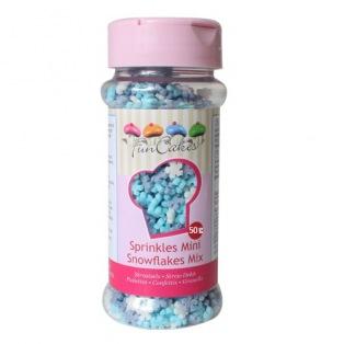 Mix Mini Snowflakes Funcakes 50g