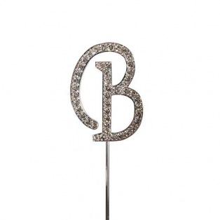 Diamante Alphabet Pick - B