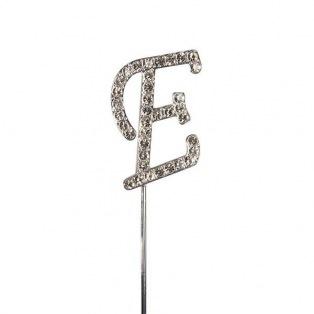 Diamante Alphabet Pick - E