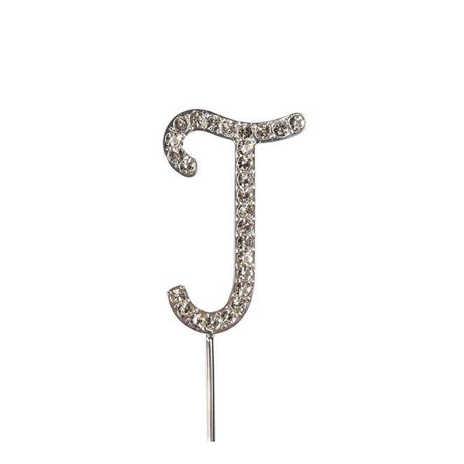 Diamante Alphabet Pick - I