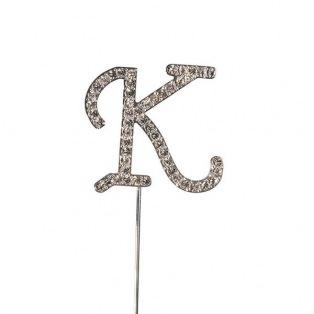 Diamante Alphabet Pick - K