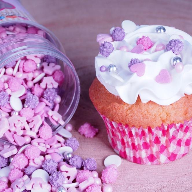 Mélange de Confettis en Sucre Princesse Funcakes 180g