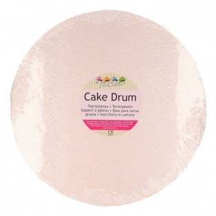 Drum Cake Round 30.5 cm pink gold - Funcakes