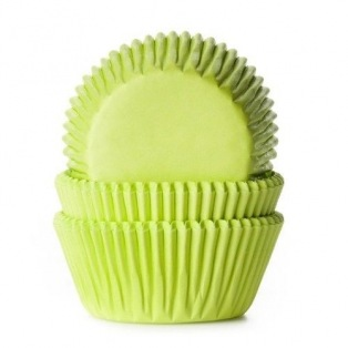 Baking Cups Lime Green - 50 pieces - House of Marie