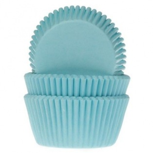 Baking Cups turquoise - 50 pieces - House of Marie