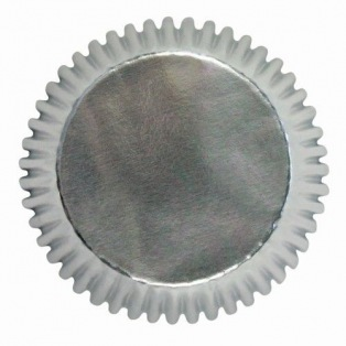 Baking cups - zilver - 30pc- PME