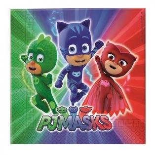 20 serviettes - PjMasks