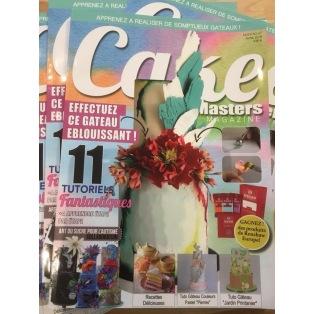 Cake Masters Magazine - Avril 2018