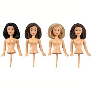 4 petites figurines pour gâteau - 10,5cm - Wilton