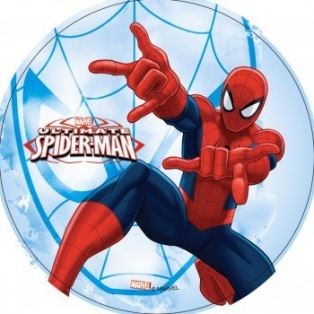 Wafer disc spiderman 2 - 20cm